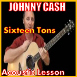 Learn to play 16 Tons by Johnny Cash | Movies and Videos | Educational