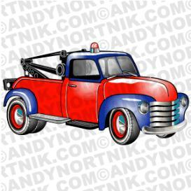 Car Clip Art 1953 Chevy Tow Truck | Photos and Images | Clip Art