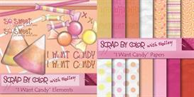 I Want Candy | Other Files | Scrapbooking