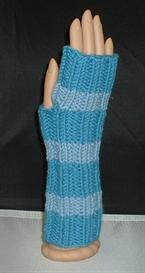 easy ribbed fingerless mittens & cabled gauntlets