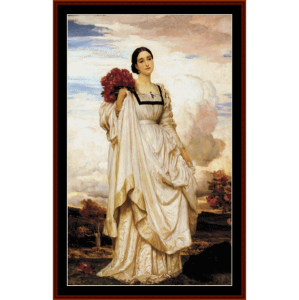 countess brownlow - leighton cross stitch pattern by cross stitch collectibles