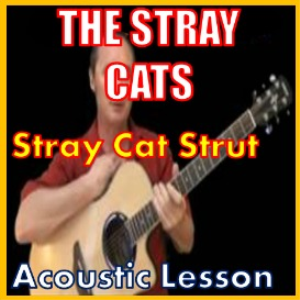 learn to play stray cat strut by the stray cats