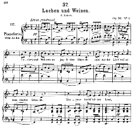 lachen und weinen D.777, Medium Voice in F Major, F. Schubert (Pet.) | eBooks | Sheet Music