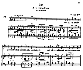 Am Fenster D.878 in F Major, High Voice, F. Schubert (Pet.) | eBooks | Sheet Music