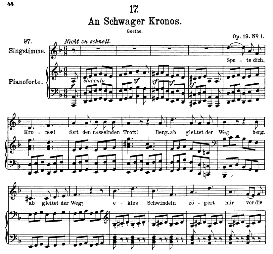 An schwager Chronos D.369 in D Minor, High Voice. F. Schubert (Pet.) | eBooks | Sheet Music