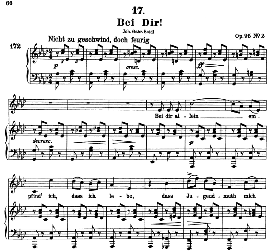 Bei Dir D.866-2 in A Flat Major, High Voice. F. Schubert. (Pet.) | eBooks | Sheet Music