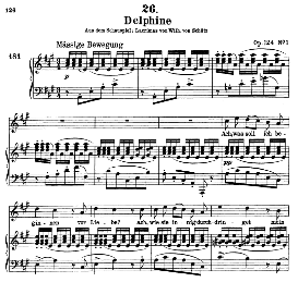 Delphine D.857-2 in A Major, High Voice. F. Schubert (Pet.) | eBooks | Sheet Music