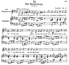 Der Geistertanz D.116, High Voice in C Minor, F. Schubert (Pet.) | eBooks | Sheet Music