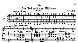 Der Tod und das Mädchen D.774, High Voice in D Minor, F. Schubert (Pet.) | eBooks | Sheet Music