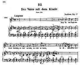 Der Vater mit dem Kinde D.906, High Voice in D Major, F. Schubert (Pet.) | eBooks | Sheet Music