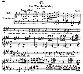 Der Wachtelschlag D.742, High Voice in A Major, F. Schubert (Pet.) | eBooks | Sheet Music
