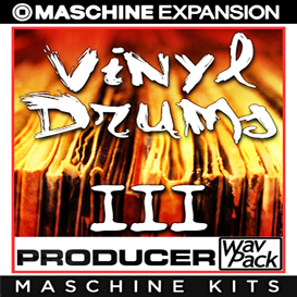 vinyl drums vol3 for maschine