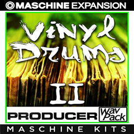 vinyl drums vol2 for maschine