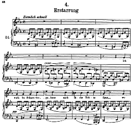 Erstarrung D.911-4, High Voice in C Minor, F. Schubert (Winterreise) Pet. | eBooks | Sheet Music