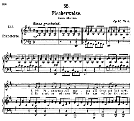 Fischerweise D.881, High Voice in D Major, F. Schubert (Pet.) | eBooks | Sheet Music