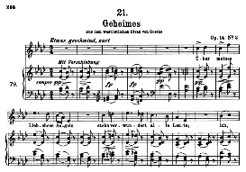 geheimes d.719, high voice in a flat major, f. schubert (pet.)