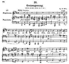 Greisengesang D.778, High Voice in B Minor, F. Schubert (Pet. | eBooks | Sheet Music