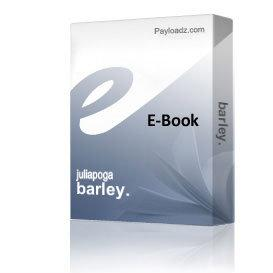 barley. | eBooks | Health