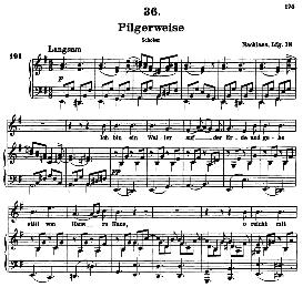 Pilgerweise D.789, High Voice in E Minor, F. Schubert (Pet.) | eBooks | Sheet Music