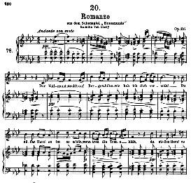 Romanze D.797, High Voice in F Minor, F. Schubert (Pet.) | eBooks | Sheet Music