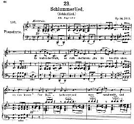 Schlaflied (Schlummerlied) D.527, High Voice in F Major, F. Schubert (Pet.) | eBooks | Sheet Music