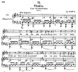 Thekla D.595, High Voice in C Minor, F. Schubert (Pet.) | eBooks | Sheet Music