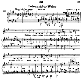 Totengräberweise D.869, High Voice in F Sharp Minor, F. Schubert (Pet.) | eBooks | Sheet Music