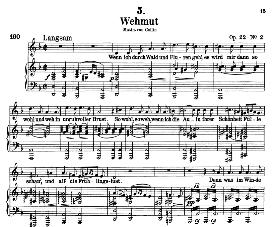 Wehmut D.762, High Voice in D Minor, F. Schubert,  C.F. Peters. | eBooks | Sheet Music