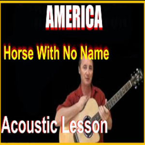 Learn to play Horse With No Name by America | Movies and Videos | Educational