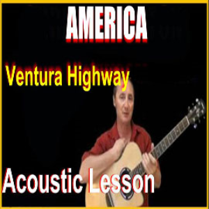 learn to play ventura highway by america