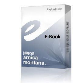 arnica montana. | eBooks | Health