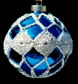 crochet christmas ornament cover b1-7