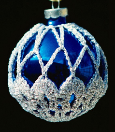 crochet christmas ornament cover b2-2