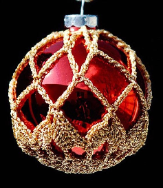 crochet christmas ornament cover b2-5