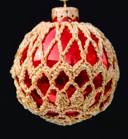 crochet christmas ornament cover b2-7