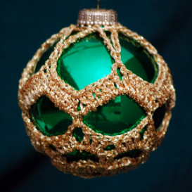 crochet christmas ornament cover b3-2