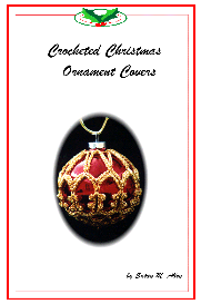 crochet christmas ornament cover b1