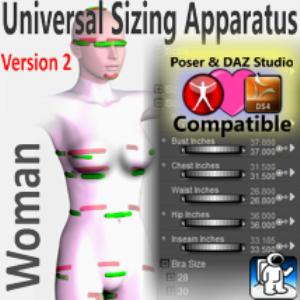 universal sizing apparatus/woman