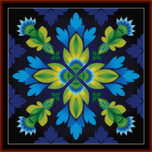 Fractal 412  cross stitch pattern by Cross Stitch Collectibles | Crafting | Cross-Stitch | Wall Hangings
