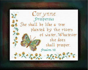 Name Blessings - Corynne | Crafting | Cross-Stitch | Other