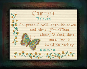 Name Blessings - Camryn | Crafting | Cross-Stitch | Other