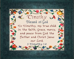 name blessings - timothy 2