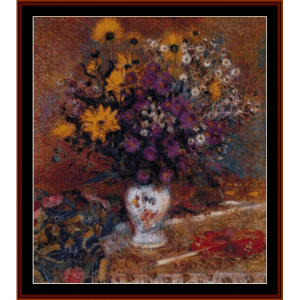 Vase of Flowewrs, 1910 - Lemmen  cross stitch pattern by Cross Stitch Collectibles | Crafting | Cross-Stitch | Wall Hangings