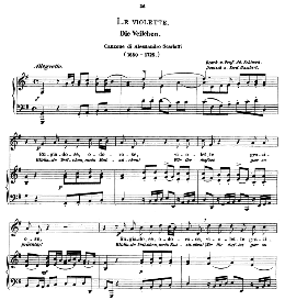le violette, medium voice in g major, a. scarlatti, caecilia, ed. andré (1894) vol.1, 906-a