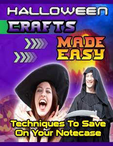 First Additional product image for - Halloween Crafts Made Easy Ebook with Resell Rights save money
