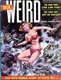 true weird magazine, nov. 1955  (complete issue)