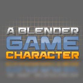 a blender game character - plus a blender quickstart course