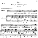 Non so più cosa son, cosa faccio.(Aria for Soprano or Mezzo). W.A.Mozart: Le Nozze di Figaro (The Marriage of Figaro), K. 492. Ed. Ricordi (PD) | eBooks | Sheet Music