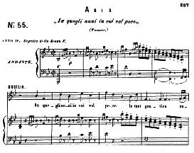 in quegli anni. (tenor aria). w.a.mozart :le nozze di figaro, k. 492. w.a.mozart, vocal score. ed. ricordi (pd)