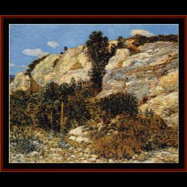 lyman's edge - shishkin  cross stitch pattern by cross stitch collectibles